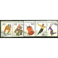 Спорт - Танзания - 1994г. - 6 марок - гашёные