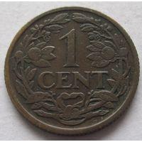 Нидерланды 1 цент 1916
