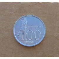 Индонезия, 100 рупий 1999 г., алюминий, состояние