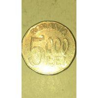 Румыния 5000 лей 2003