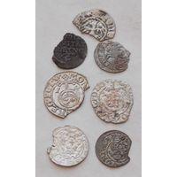 Лот монет для коллажа