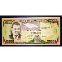 РАСПРОДАЖА С 1 РУБЛЯ!!! Ямайка 100 долларов 2011 год UNC