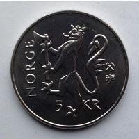 Норвегия 5 крон. 1997. 350 лет Норвежской почтовой службе