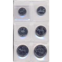 Эритрея комплект монет 1997г. скидки.