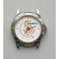 """Часы ЛУЧ 1656А """" ТРАЙПЛ 5 лет успеха """" 1997 год"""