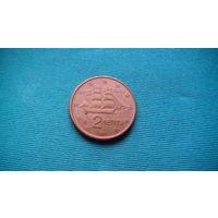 Греция 2 цента (лепта) 2002г распродажа