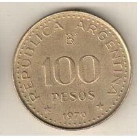 Аргентина 100 песо 1979