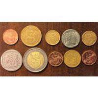 ЮАР /Южная Африка/, надписи на всех языках страны, все ходовые монеты, полный набор одним лотом