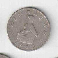 50 центов 1989 года Зимбабве