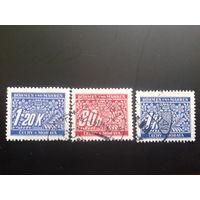 Рейх протекторат 1940 доплатные марки