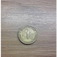 5 Франков 1972 (Центральная Африка)