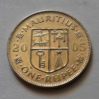 1 рупия, Маврикий 2005 г.