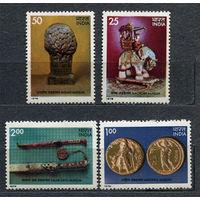 Произведения искусства. Индия. 1978. Полная серия 4 марки. Чистые
