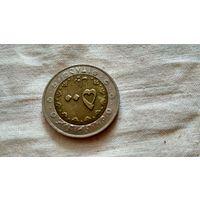 Монета иран. Биметалл. С рубля