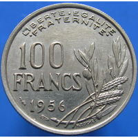 F.450-8 100 франков 1956 (2-30) к