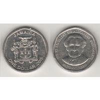 Ямайка km189 1 доллар 2015 год (al)(f14)*