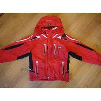 Мембранная лыжная куртка Brugi. Рос 140-146