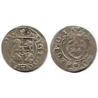 Полторак 1616, Сигизмунд III Ваза, Быдгощ. Рв - герб Абданак в щитке