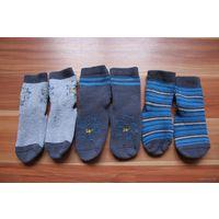 Носочки с силиконовой подошвой на 1-2 года