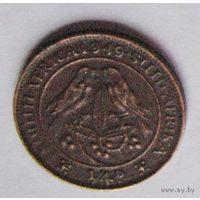 Южная Африка 1/4 пенни (фартинг) 1949