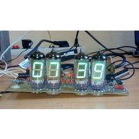 Часы на вакуумных индикаторах