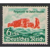 3 рейх Остров Гельголанд 1940 год чистая одиночка