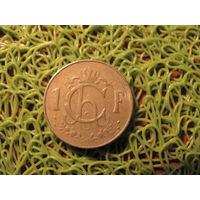 1 франк 1960 люксембург *750