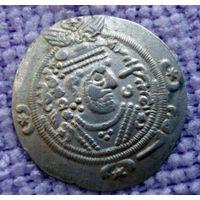 Табаристан. Аббасидские наместники, Khurshid, 740-761 гг. н.э., гемидрахма (1/2 драхмы). - 2