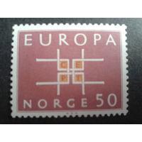 Норвегия 1963 Европа
