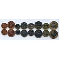 Фолклендские острова набор 8 монет 2004-2011 UNC