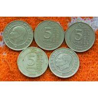 Турция 5 куруш. Инвестируй в монеты планеты!