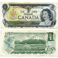 Канада. 1 доллар 1973. [UNC]