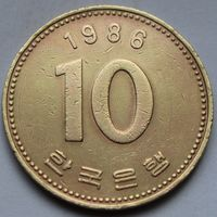 10 вон 1986 Корея