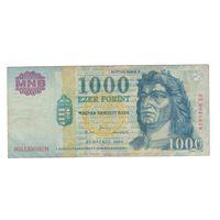 """Венгрия 1000 форинтов 2000 года. """"Милленниум"""", юбилейная. Состояние VF!"""