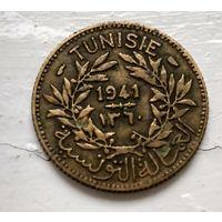 Тунис 1 франк, 1941  3-4-10