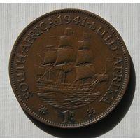 Брит. Южная Африка 1 Пенни 1941 GEORIUS VI (D)