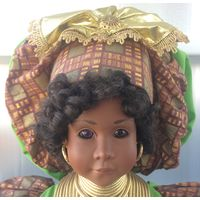 Фарфоровая кукла Anika by Peggy Dey & Pat Loveless