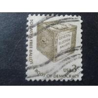 США 1977 стандарт, ящик