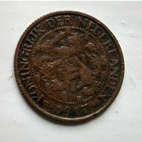 Нидерланды 1 цент, 1917 1-1-1