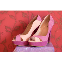 Туфли-босоножки, рр 39, фиолетовые