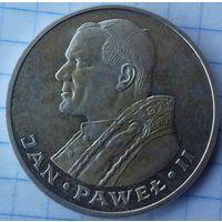 1000 злотых 1982г-Ян Павел2.-серебро.