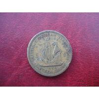 5 центов 1956 год Восточные Карибы