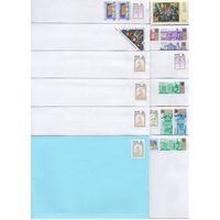 40 чистых конвертов франкированых марками России.