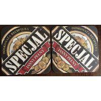 """Подставка под пиво """"Specjal"""" (Польша) No 4"""