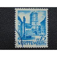 Германия. Вюртемберг. Французская зона. 1947г.