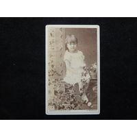 Фото девочки.Москва.1887г.