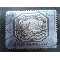 Сан-Марино 1972 Притча о святом Маринусе