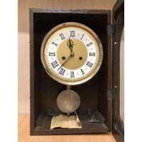 Часы настенные механические янтарь