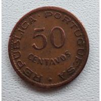 Мозамбик 50 сентаво, 1957 6-4-54