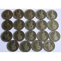 1 франк Швейцария (список)